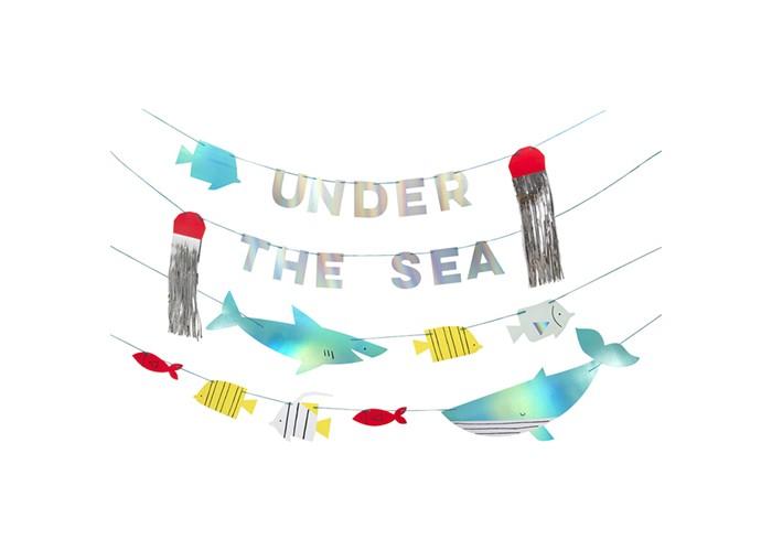 Купить Товары для праздника, MeriMeri Гирлянда Море 2 м
