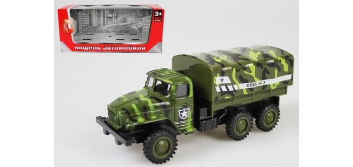Машины Игротрейд Машинка металлическая инерционная Спецназ