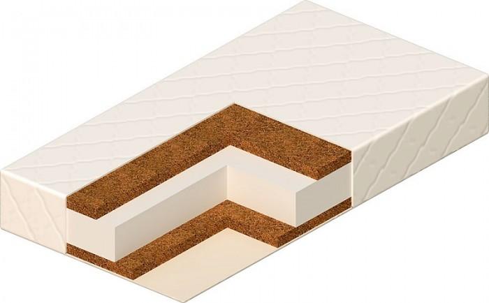 Матрас Vikalex Сорренто 120х60х14Сорренто 120х60х14Матрас в кроватку Vikalex Сорренто 120х60х14 - это двухсторонний матрас разной степени жесткости на основе Airotek-Cotton. Жесткая кокосовая койра формирует осанку ребенка. Экологичные материалы, не вызывающие аллергию при производстве. Съемный чехол из ткани, которая не дает накапливаться статическому заряду. С таким матрасом сон ребенка будет безмятежным. Европейский сертификат соответствия СЕ / Сертификат РСТ   Состав матраса: Латексированная кокосовая койра (10 мм.)  Airotek-Cotton (80 мм.)  Латексированная кокосовая койра (30 мм.)  Нетканый материал Airotek  Стеганый съемный чехол на молнии (ткань Stress Free)   Основа - Airotek-Cotton. Airotek Cotton - инновационный экологически чистый материал из смеси полиэфирных волокон и хлопка, который соединил в себе лучшие качества синтетического и натурального волокна. Он прекрасно вентилируется, не впитывает влаги и запахов, не испаряет никаких химических соединений, не вызывает аллергии, прекрасно сохраняет форму при любой деформации.   Кокосовая койра. Кокосовая койра известна эластичностью, прочностью и долговечностью. Помимо прочности и износоустойчивости, кокосовые матрасы обладают рядом таких преимуществ, как гипоалергенность, влагоустойчивость (кокосовая койра не впитывает воду) и воздухопроницаемость.<br>