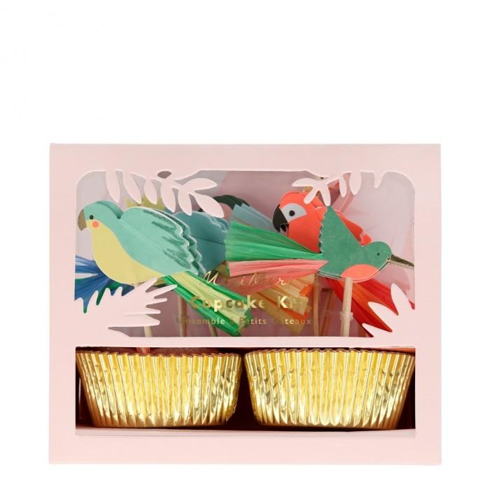 наборы для кормления Товары для праздника MeriMeri Наборы для капкейков Тропики