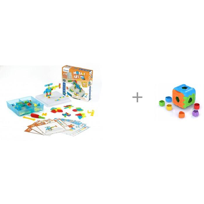 Купить Конструкторы, Конструктор Miniland Mosaic Art 3D и дидактический Кубик