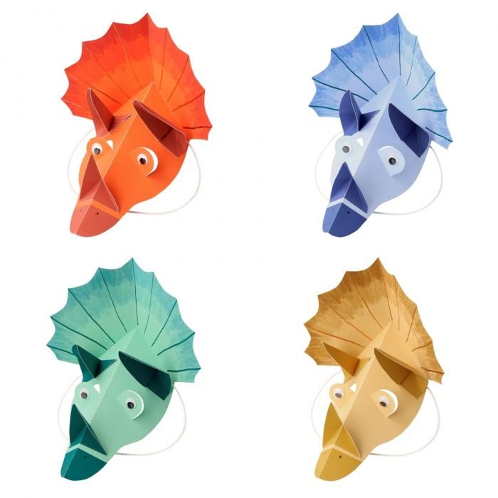 Картинка для Товары для праздника MeriMeri Шапочки Динозавр