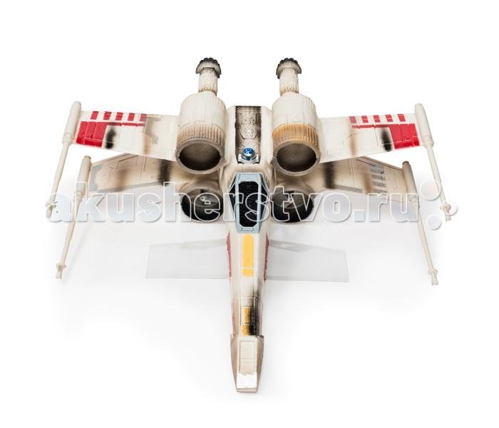 Air Hogs Звёздный истребитель Звёздные войныЗвёздный истребитель Звёздные войныAir Hogs Звёздный истребитель Звёздные войны. Компания Spin Master — всемирно известный производитель игрушек, в том числе радиоуправляемых моделей под брендом AirHogs реализовала мечту многих мальчишек и девчонок: теперь у каждого может появиться знаменитый истребитель X-Wing из вселенной Звёздных войн. Именно управляя таким истребителем Люк Скайуокер смог уничтожить Звезду Смерти и спасти целую планету.  Уникальной особенностью модели является то, что винты, поддерживающие истребитель в воздухе спрятаны в корпусах турбин. Поэтому создаётся впечатление, что истребитель оснащён реактивной тягой. В модели установлен мощный передатчик, что позволяет управлять истребителем на дистанции до 100 метров.  Основные характеристики: первый в истории летающий Звездный истребитель реактивная тяга (винты в круглых каналах) ударопрочный корпус дистанция управления до 100 м.<br>