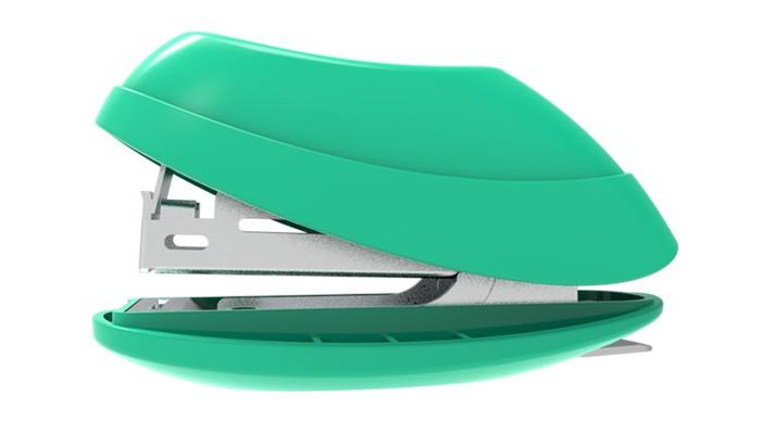 Канцелярия Deli Комплект степлер со скобами Explora N10 до 15 листов