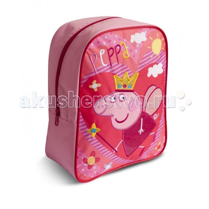 Купить Сумки для детей, Свинка Пеппа (Peppa Pig) Рюкзачок средний Свинка Пеппа Королева