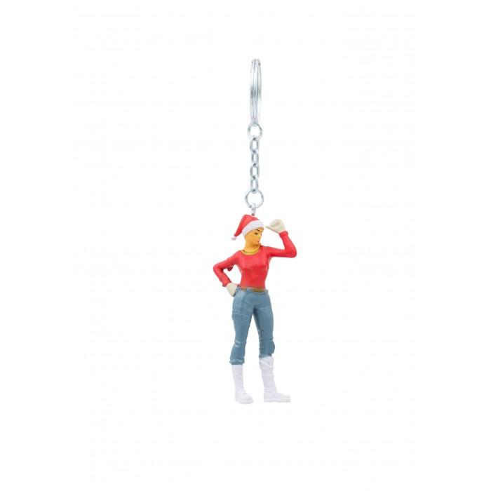 Картинка для Игровые фигурки Fortnite Фигурка-брелок Агент Рождества 7 см