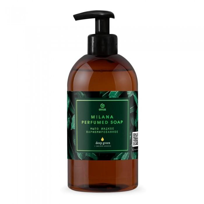 Косметика для мамы Grass Milana Green Deep Мыло жидкое парфюмированное 300 мл жидкое мыло grass milana green stalk парфюмированное 300 мл