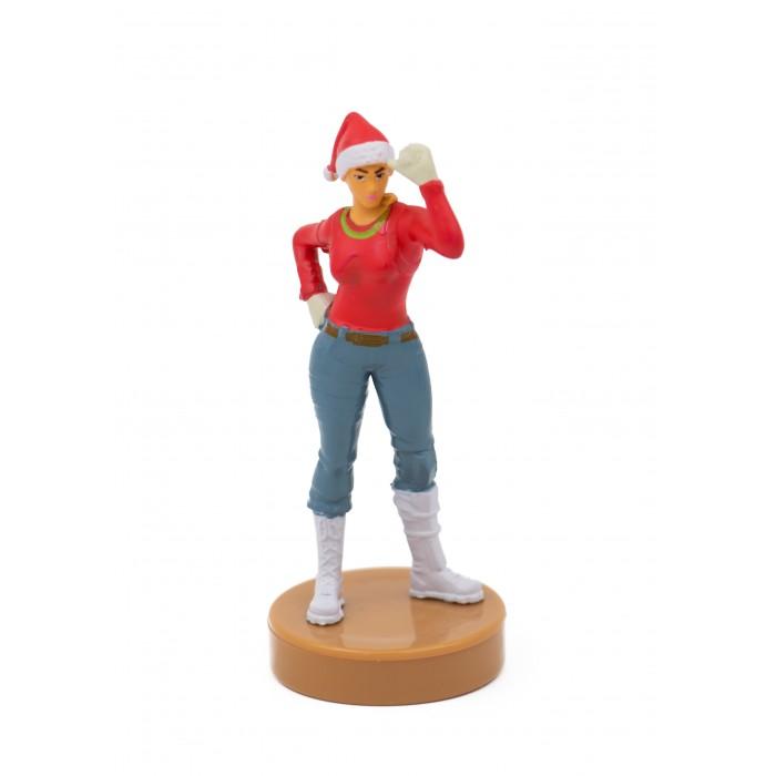 Картинка для Игровые фигурки Fortnite Фигурка штампик Агент Рождества 7.5 см
