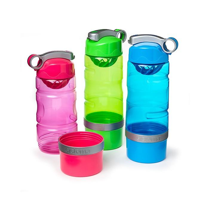 Картинка для Бутылки для воды Sistema Спортивная питьевая бутылка 615 мл