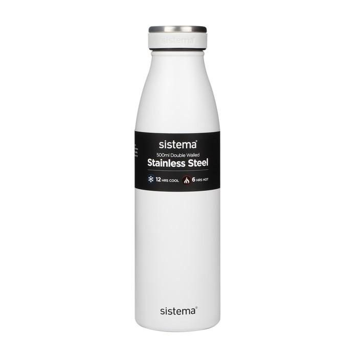 Картинка для Бутылки для воды Sistema Стальная бутылка 500 мл
