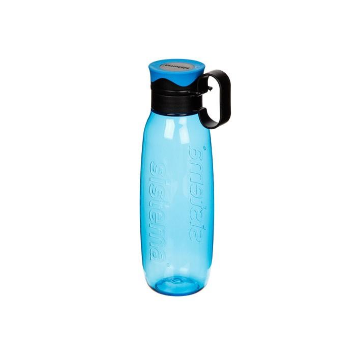 Картинка для Бутылки для воды Sistema Бутылка для воды с петелькой тритан 650 мл