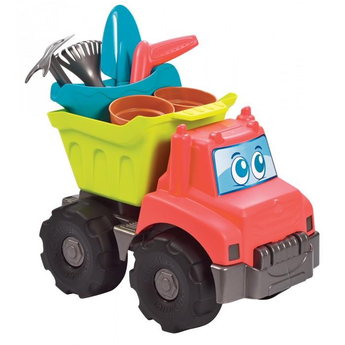 Картинка для Игрушки в песочницу Ecoiffier Детский садовый грузовик с аксессуарами