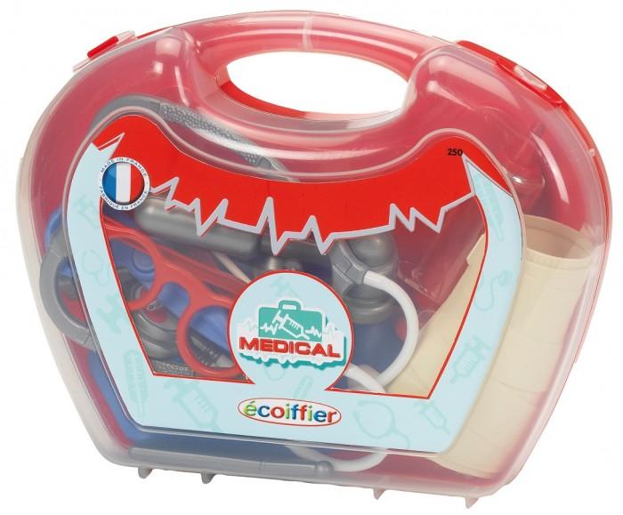 Картинка для Ролевые игры Ecoiffier Игровой набор доктора в чемоданчике ECO250