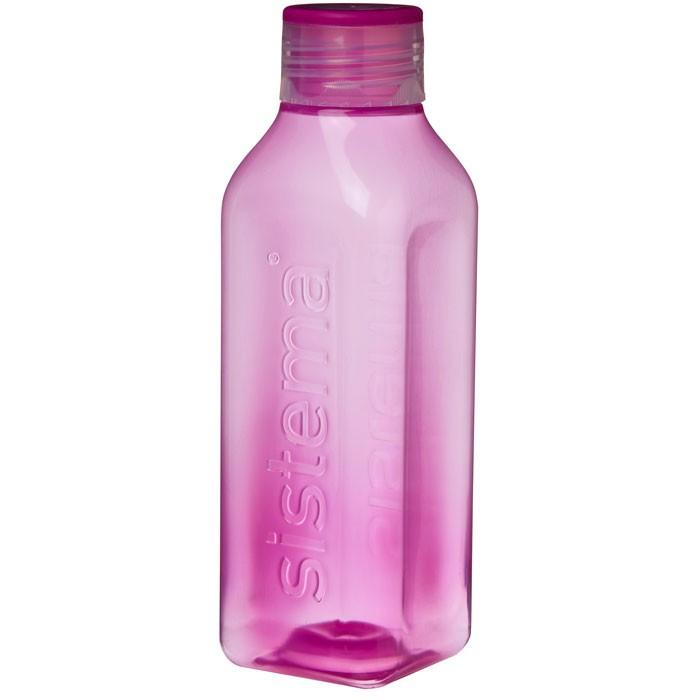 Картинка для Бутылки для воды Sistema Бутылка квадратная 725 мл