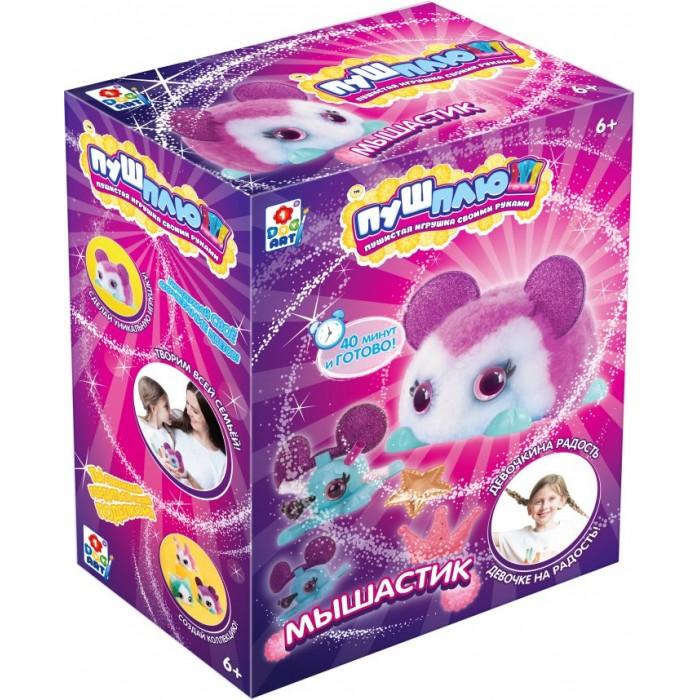 1 Toy Пуш-Плюш Набор для творчества Мышастик