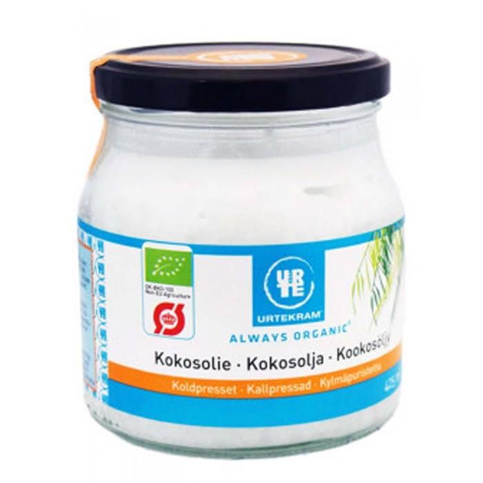 Правильное питание Urtekram Кокосовое масло органическое холодного отжима нерафинированное 425 мл кокосовое масло холодного отжима мини 100 мл