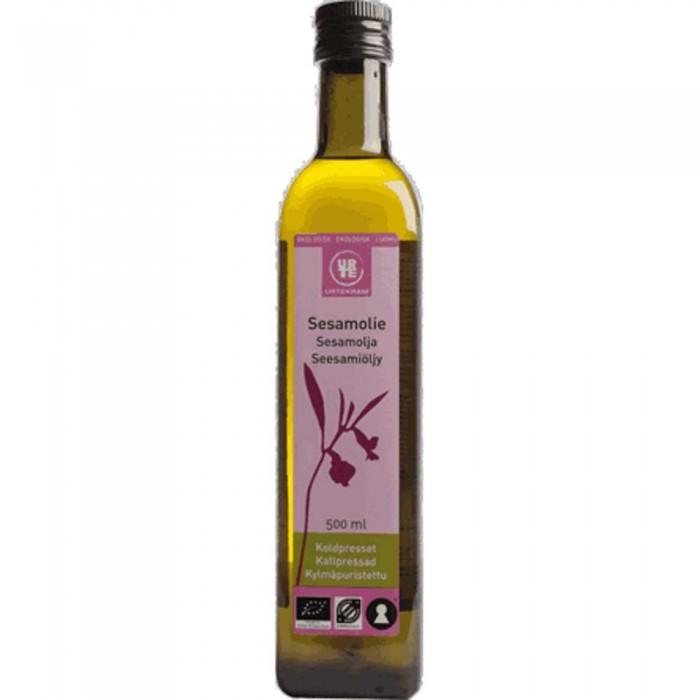 Правильное питание Urtekram Натуральное кунжутное масло холодного отжима органическое 500 мл кокосовое масло холодного отжима мини 100 мл