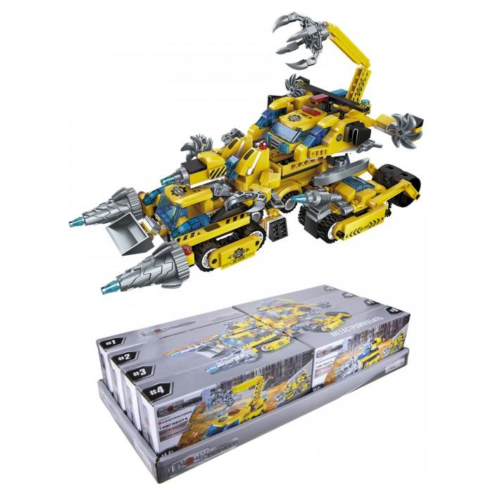 Конструктор 1 Toy Blockformers Мегатрансмобиль 8 шт. Blockformers Мегатрансмобиль 8 шт.