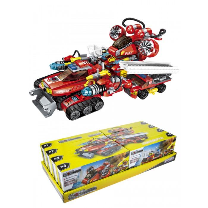 Картинка для Конструкторы 1 Toy Blockformers Трансфайертрак 8 шт.