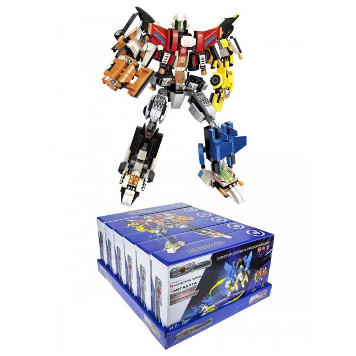 Конструктор 1 Toy Blockformers Мегатрансфайтер 6 шт. Blockformers Мегатрансфайтер 6 шт.