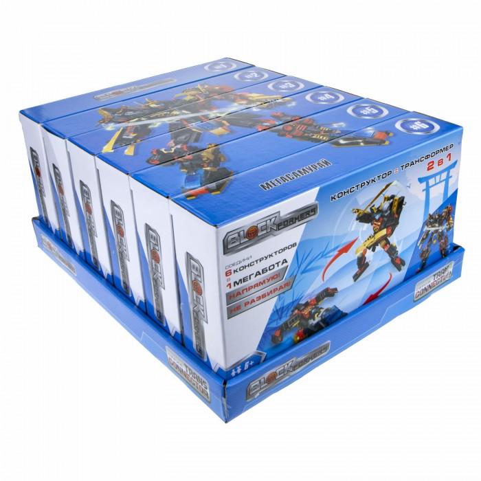 Конструктор 1 Toy Blockformers Мегасамурай 6 шт. Blockformers Мегасамурай 6 шт.