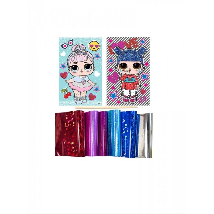 Аппликации для детей L.O.L. Surprise! Аппликация из фольги Kawaii Queen Crystal