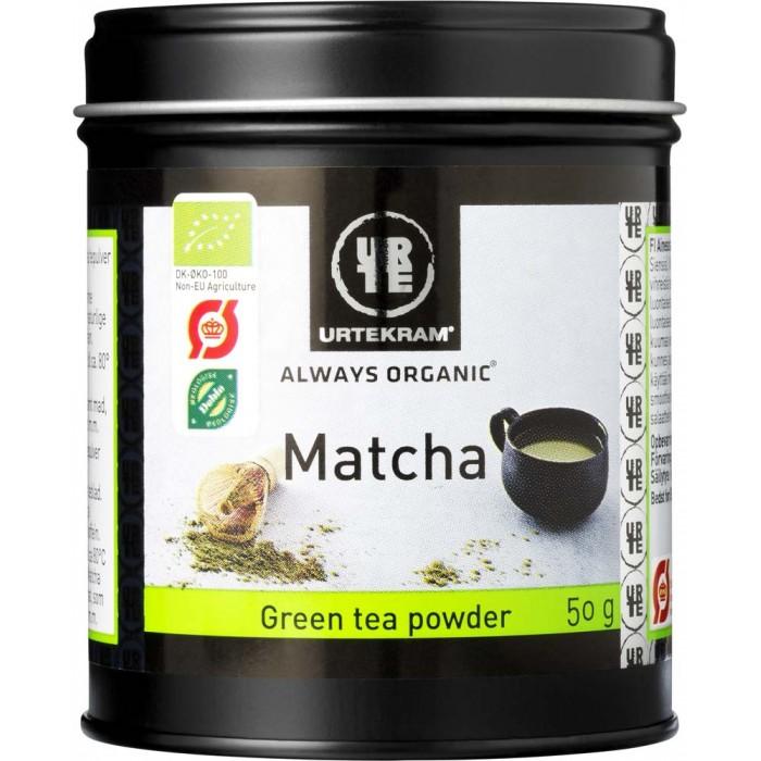Картинка для Чай Urtekram Зеленый чай Матча органический 50 г