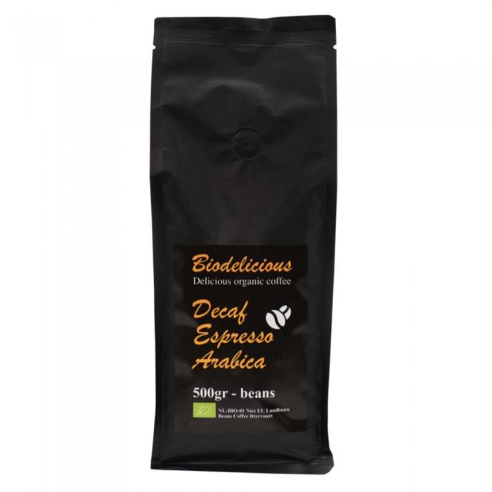 Картинка для Urtekram Bio Delicious Кофе Декаф Эспрессо арабика без кофеина органический 500 г