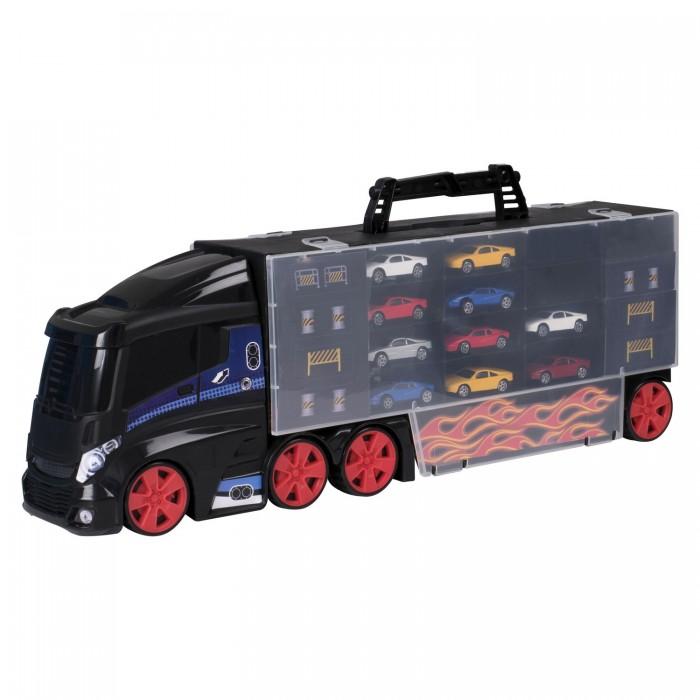 Купить Машины, HTI Игровой набор Teamsterz Автоперевозчик с 10 машинками