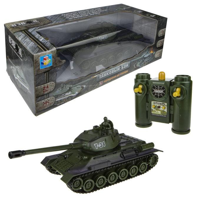 Радиоуправляемые игрушки 1 Toy Взвод Танк на радиоуправлении