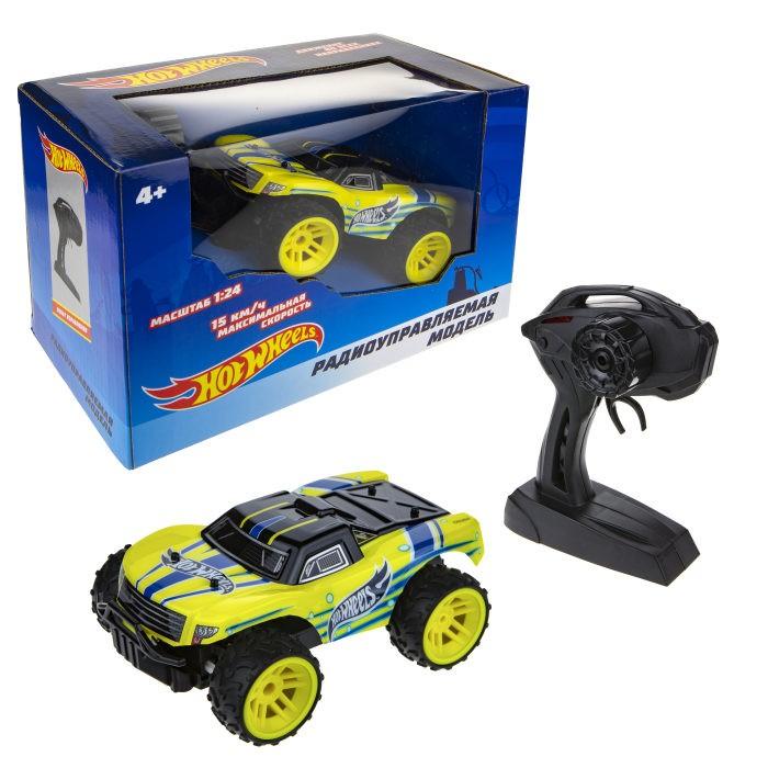 машина на радиоуправлении багги 28см красная Радиоуправляемые игрушки Hot Wheels Машина на радиоуправлении Т17675