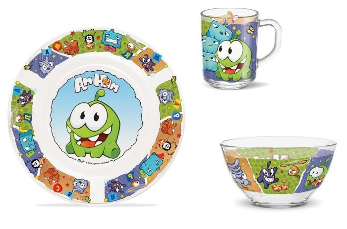 Купить Посуда, PrioritY Набор детской посуды Ам Ням (стекло)