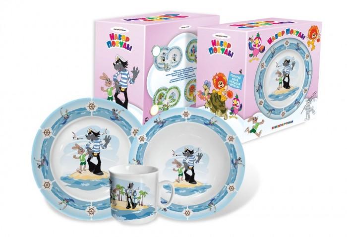 Посуда PrioritY Набор детской посуды Ну, погоди! (фарфор)
