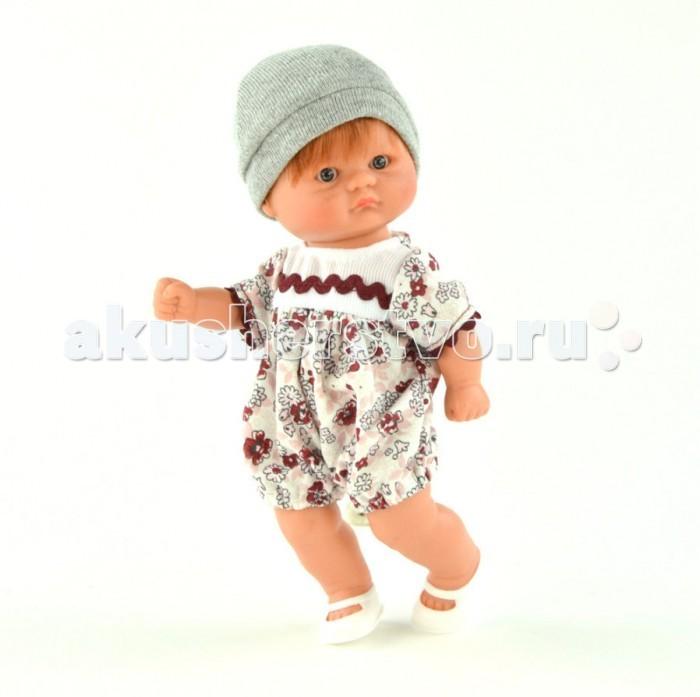 ASI Кукла пупсик 20 см 113241Кукла пупсик 20 см 113241Пупсик, размер 20 см, выполнен из винила, короткие рыжие волосы, в цветном комплекте, в красивой подарочной коробке.<br>