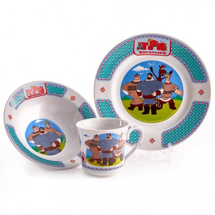 Купить Посуда, PrioritY Набор детской посуды Три богатыря Богатыри (фарфор)