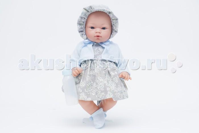 ASI Кукла Коки 36 см 403200Кукла Коки 36 см 403200Кукла, размер 36 см, тело мягконабивное, голова, руки и ноги из винила, без волос, в сером платье и чепчике, в комплекте бутылочка, в красивой подарочной коробке.<br>