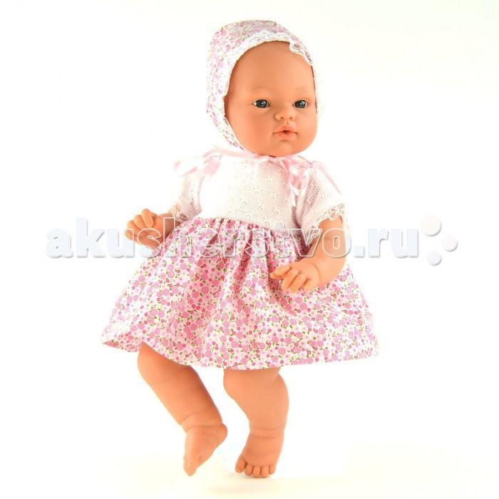 ASI Кукла Коки 36 см 403210Кукла Коки 36 см 403210Кукла, размер 36 см, тело мягконабивное, голова, руки и ноги из винила, без волос, в розовом платье и чепчике, в комплекте бутылочка, в красивой подарочной коробке.<br>