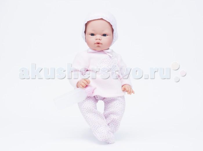 ASI Кукла Коки 36 см 403220Кукла Коки 36 см 403220Кукла, размер 36 см, тело мягконабивное, голова, руки и ноги из винила, без волос, в розовом комплекте, прилагается бутылочка, в красивой подарочной коробке.<br>