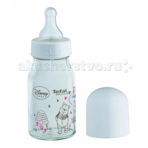 Бутылочки Tefal 110 мл стекло TD 6000 бутылочки для кормления nurtria комплект бутылочки для кормления силиконовая соска комплект тарелочки
