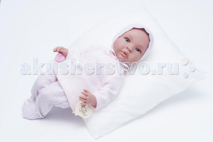 ASI Кукла Лео 50 см 183220Кукла Лео 50 см 183220Пупс, размер 50 см, тело мягконабивное, голова, руки и ноги из винила, без волос, в розовом комплекте, в красивой подарочной коробке.<br>