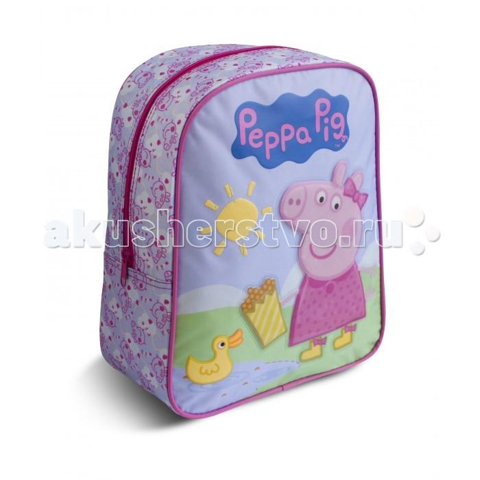 Купить Сумки для детей, Свинка Пеппа (Peppa Pig) Рюкзачок средний Свинка Пеппа Утка