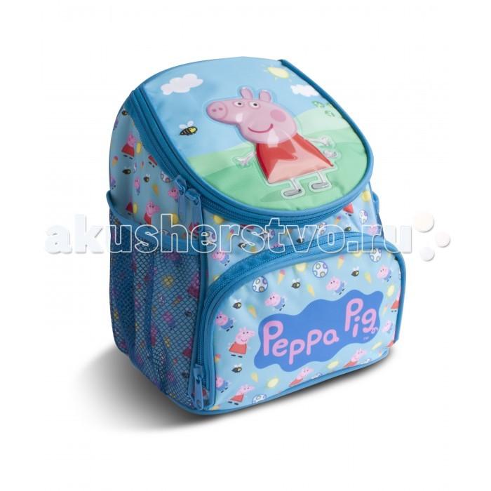 Школьные рюкзаки Свинка Пеппа (Peppa Pig) Рюкзачок увеличенный мягкие игрушки peppa pig мягкая игрушка пеппа модница 20 см