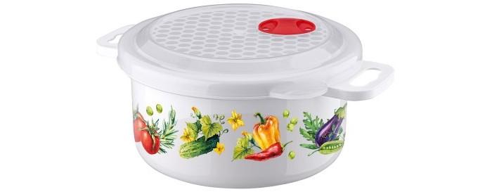 Картинка для Контейнеры для еды Phibo Ёмкость с декором для холодильника и микроволновой печи 0.9 л
