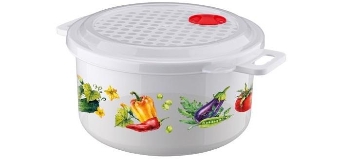 Картинка для Контейнеры для еды Phibo Ёмкость с декором для холодильника и микроволновой печи 1.8 л