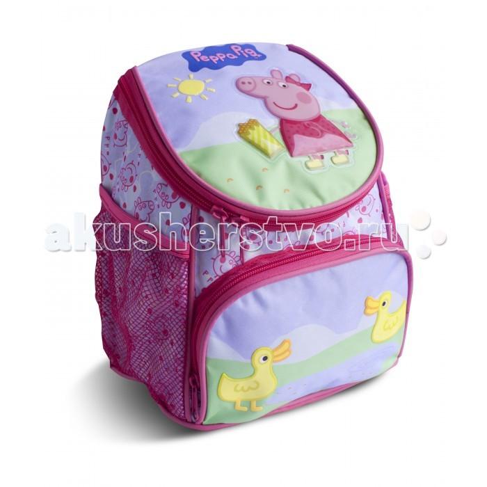 Школьные рюкзаки Свинка Пеппа (Peppa Pig) Рюкзачок увеличенный Утка
