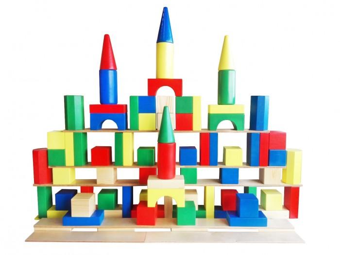 Деревянная игрушка Томик Конструктор Зоопарк 44 деталей