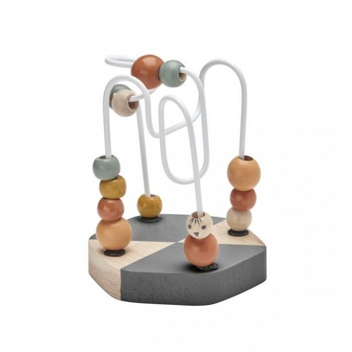 Деревянная игрушка Эврилэнд Матрешка Радуга 7 цветов с карточками