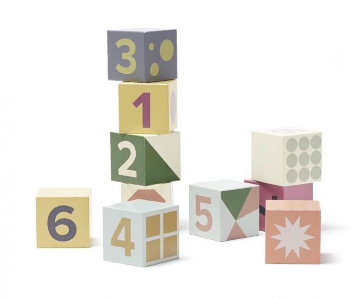 Деревянные игрушки Kid's Concept Кубики с цифрами Edvin