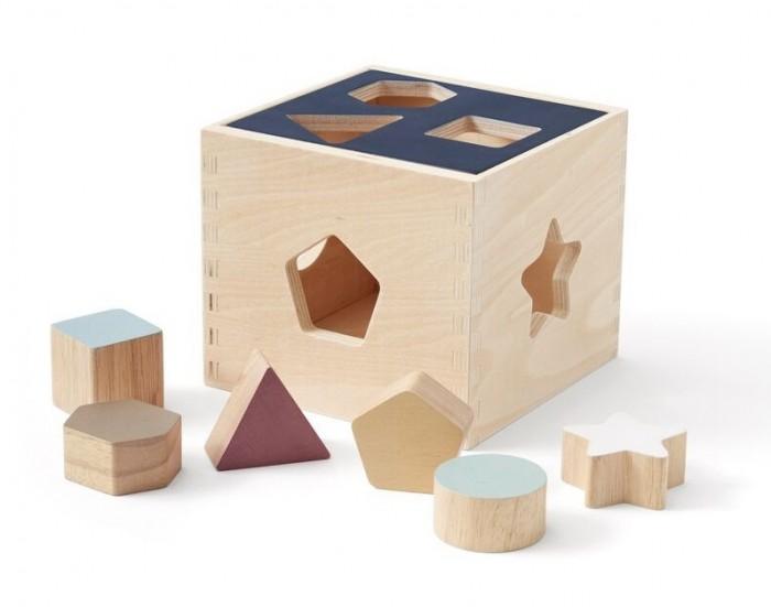 Деревянная игрушка Эврилэнд Умный сортер с карточками