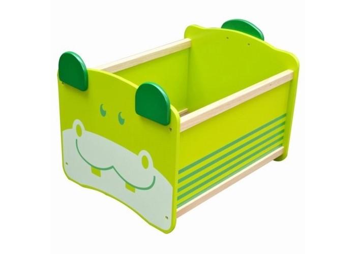 Im toy Ящик для хранения БегемоЯщик для хранения БегемоIm toy Ящик для хранения Бегемо безопасен даже для самых маленьких детей, благодаря своей устойчивой конструкции с закруглёнными углами.   Особенности: На торцевой стеночке изображена улыбающаяся мордашка медвежонка Яркая игрушка-ящичек обязательно приживётся в комнате Вашего ребёнка – лёгкий и компактный, он также может принимать участие в сюжетно-ролевых играх.  Материал: дерево ценных пород, произрастающих в экологически чистых районах Юго-Восточной Азии.<br>